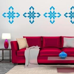 szablon malarski dekoracja ścienna abstrakcja 18SM24