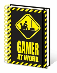 Gamer At Work - notes A5