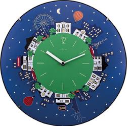 Zegar ścienny Little Planet Dome Nextime 35 cm 3178
