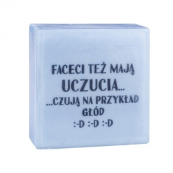 Laq mydełko glicerynowe sms - faceci też mają uczucia 75g