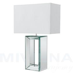 Mirror lampa stołowa biały