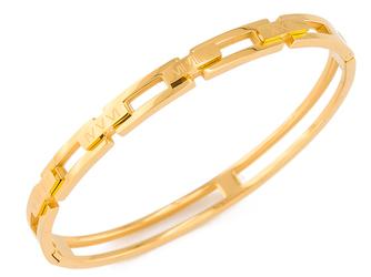 EXCLUSIVE Bransoletka sztywna złota - ZŁOTA