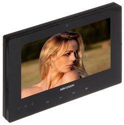 Panel wewnętrzny wideodomofonu monitor ds-kh8340-tce2eu-black hikvision