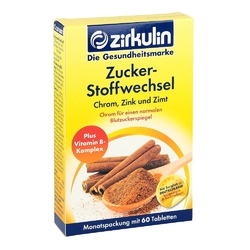 Zirkulin zimt plus tabletki na metabolizm cukru
