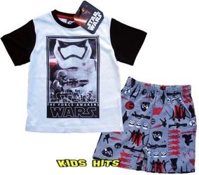 Piżama star wars the force biała 6 lat