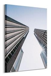 Skyscrapers - obraz na płótnie