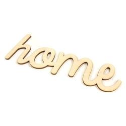 Rodzinny napis drewniany home - 19 cm - hom