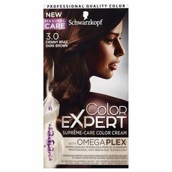 Schwarzkopf, Color Expert, farba do włosów, 3.0 Ciemny Brąz