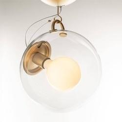 Artemide :: lampa sufitowa miconos mosiężna transparentna śr. 30 cm