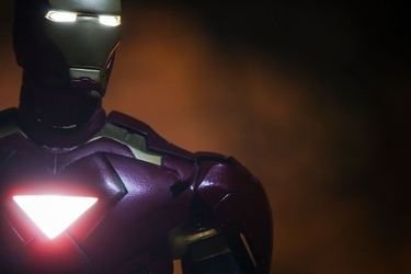 Iron man 2 mark vi ver2 - plakat wymiar do wyboru: 70x50 cm