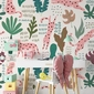Tapeta dla dzieci - pink pantheras , rodzaj - tapeta flizelinowa