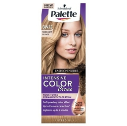 Palette, intensive color creme, farba do włosów, bw-12 jasny blond
