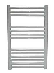 Grzejnik łazienkowy york - wykończenie zaokrąglone, 500x800, białyral - paleta ral