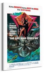 James bond: szpieg, który mnie kochał - obraz na płótnie