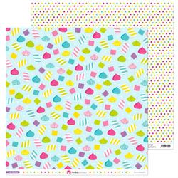 Słodki papier do rękodzieła 30x30 cm Mis Chuches - 05