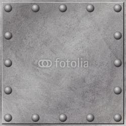 Board z aluminiowym obramowaniem tło grunge metalu