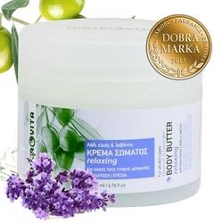 Macrovita relaksujące masło do ciała z bio-oliwą z oliwek i lawendą 200ml - relaksujący