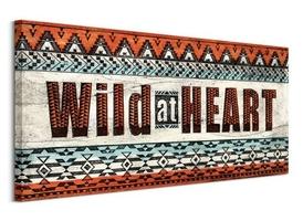 Wild at heart - obraz na płótnie