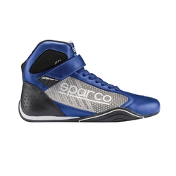 Buty kartingowe sparco omega kb-6 niebieskosrebrne homologacja cik