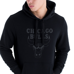 Bluza z kapturem New Era NBA Chicago Bulls Team Logo - 11546180 - Chicago Bulls