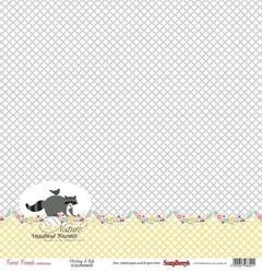 Papier 30x30 cm Forest Friends - Hitching a ride - 04