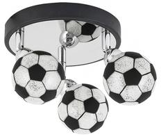 Lampa spot piłki football 3x4w g9 4473 frankie