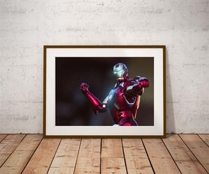 Iron man ver1 - plakat wymiar do wyboru: 80x60 cm