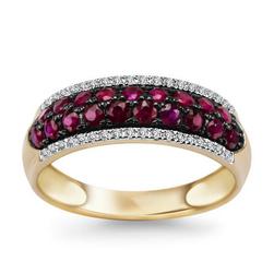 pierścionek złoto 58514k i diamenty
