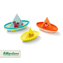 Lilliputiens 3 łódeczki do kąpieli 6 m+
