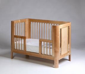 Sun 120x60 toddler rail - wymienny bok do łóżeczka Sun 120x60 k. naturalny