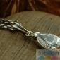 Barbara - srebrny wisiorek z kryształem swarovskiego
