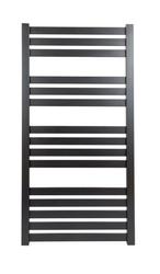 Grzejnik łazienkowy vas - rurka płaska, 600x1200, czarny