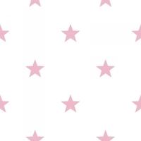Tapeta biała w różowe gwiazdki hashtag 11064