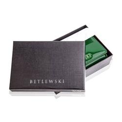 Skórzany portfel damski betlewski z pudełkiem rfid