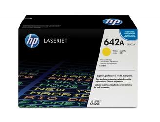 HP Toner CLJ CP4005 7.5k CB402A ŻÓŁTY