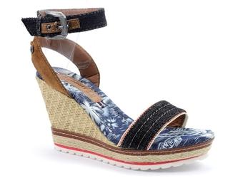 Sandały monnari but0060 czarny