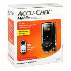 Accu Chek Mobile zestaw do samodzielnego pomiaru glukozy we krwi