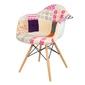 Nowoczesny fotel kr012f patchwork 7 buk
