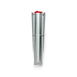 Brabantia - mocowanie suszarki ogrodowej do wbicia w ziemię – 45mm - do suszarek topspinner, lift-o-matic