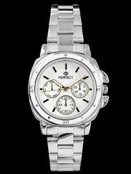 Damski zegarek PERFECT M602 - silvergold zp739c