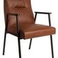 Dutchbone :: fotel fez brązowy
