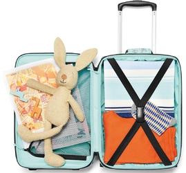 Torba podróżna na kółkach dla dzieci reisenthel trolley xs miętowa ril4062