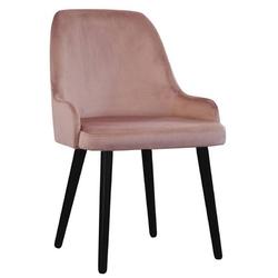 Nowoczesne krzesło tapicerowane erik