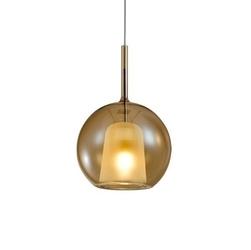Lampa wisz�ca euforia no. 1 16cm bursztynowa