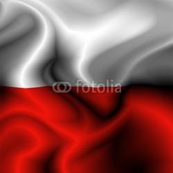 Fotoboard na płycie polsko-polska flaga-drapeau pologne