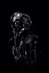 Star wars gwiezdne wojny tie pilot - plakat premium wymiar do wyboru: 61x91,5 cm
