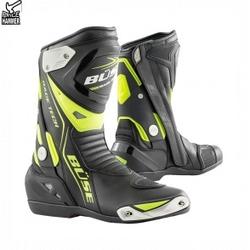 Buse buty motocyklowe gp race tech czarno-neonowe
