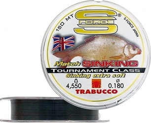 Żyłka trabucco match sinking 150m 0,18mm