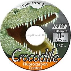 Żyłka JAXON CROCODILE Fluorocarbon Coated niewidoczna 0,25mm 11kg 150m