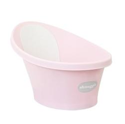 Wanienka shnuggle z szarym piankowym oparciem pink, 0+